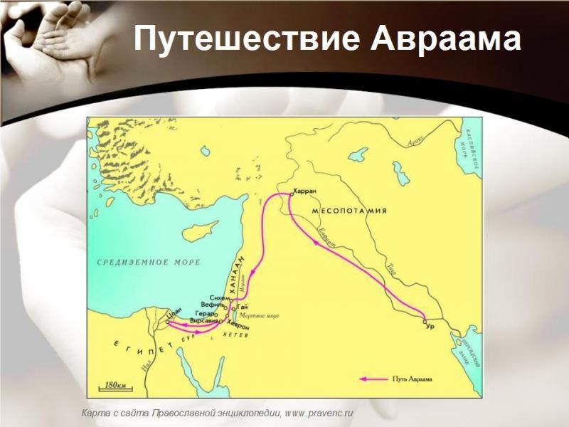Путешествие авраама картинки