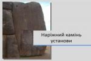 Наріжний камінь установи — Суботня проповідь